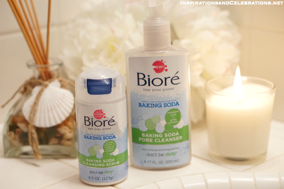 How To Get Clear Skin with Biore Baking Soda Products