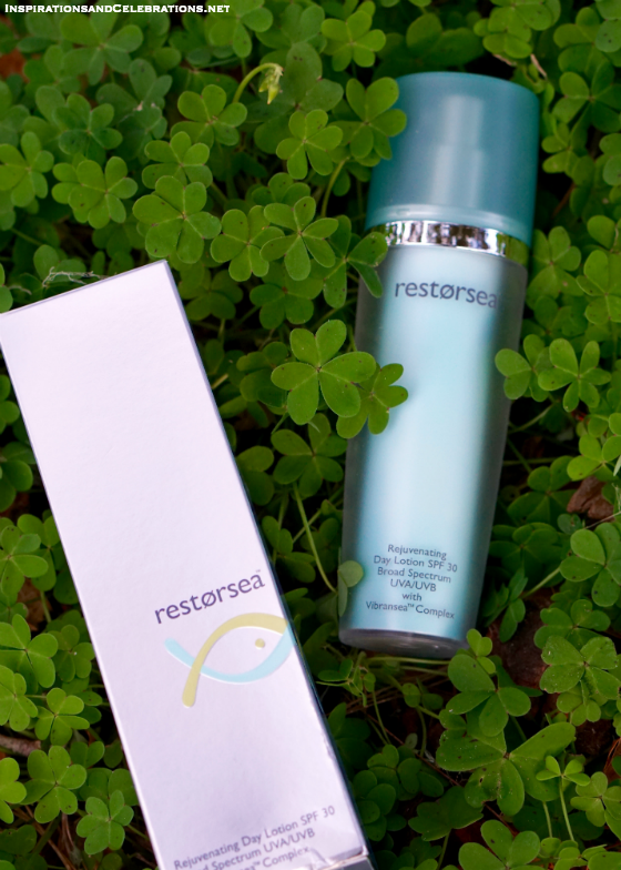 The Lucky Lady's Style and Beauty Giveaway - Restorsea Rejuvenating Day Lotion