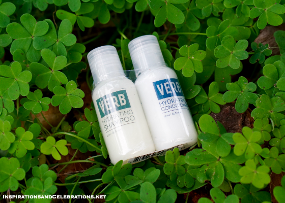 The Lucky Lady's Style and Beauty Giveaway - Verb Travel-Size Shampoo and Conditioner