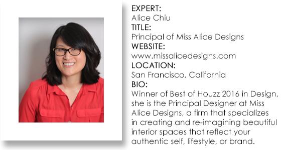 Interior Design Expert - Alice Chiu