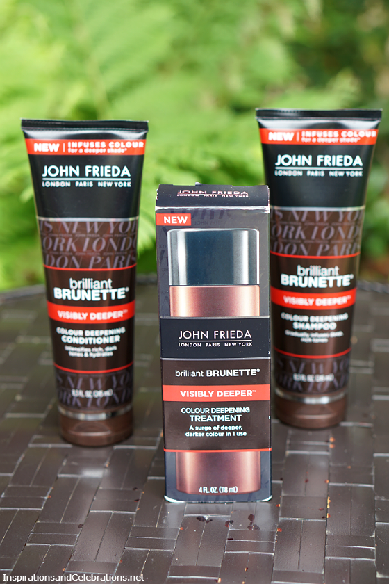 John Frieda Brilliant Brunette Visibly Deeper