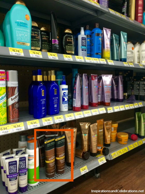 John Frieda Brilliant Brunette at Walmart