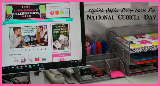 Stylish Office Decor Ideas for National Cubicle Day