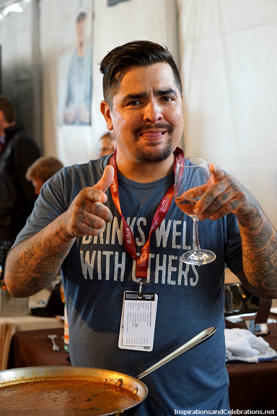 The Best of The Fest - 2016 Pebble Beach Food and Wine Highlights - Chef Aaron Sanchez
