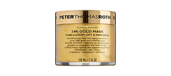 Fabulous Finds: 10 Skincare Products That Make You Look Younger - Peter Thomas Roth 24k Gold Mask