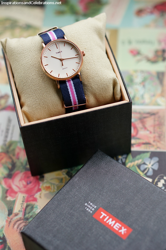 Hello Summer Style and Beauty Giveaway - Timex Weekender Fairfield Watch