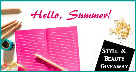Hello Summer Style and Beauty Giveaway