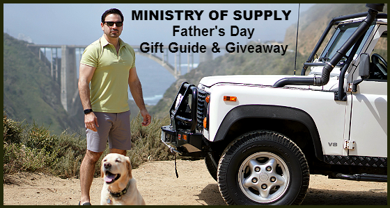 Ministry of Supply Father's Day Gift Guide and Giveaway