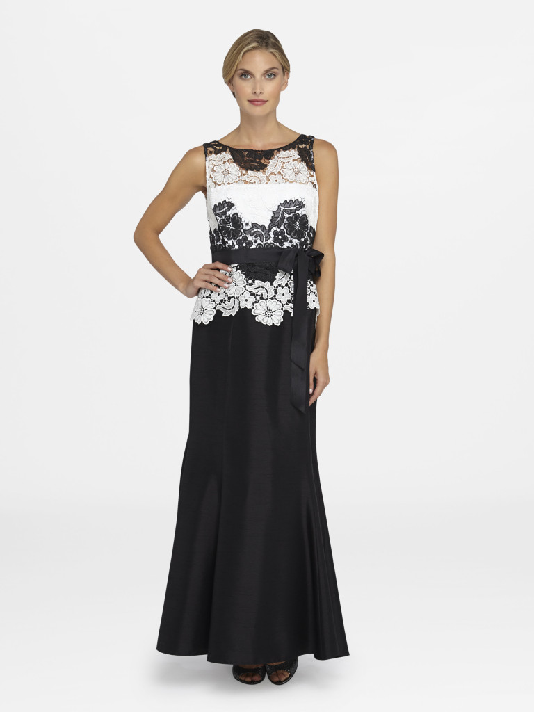 Summer Style Guide - Tahari ASL Lace Embroidered Gown