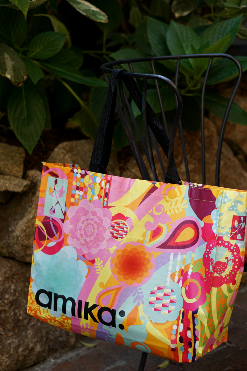 Live What You Love Summer Giveaway - Amika Tote Bag