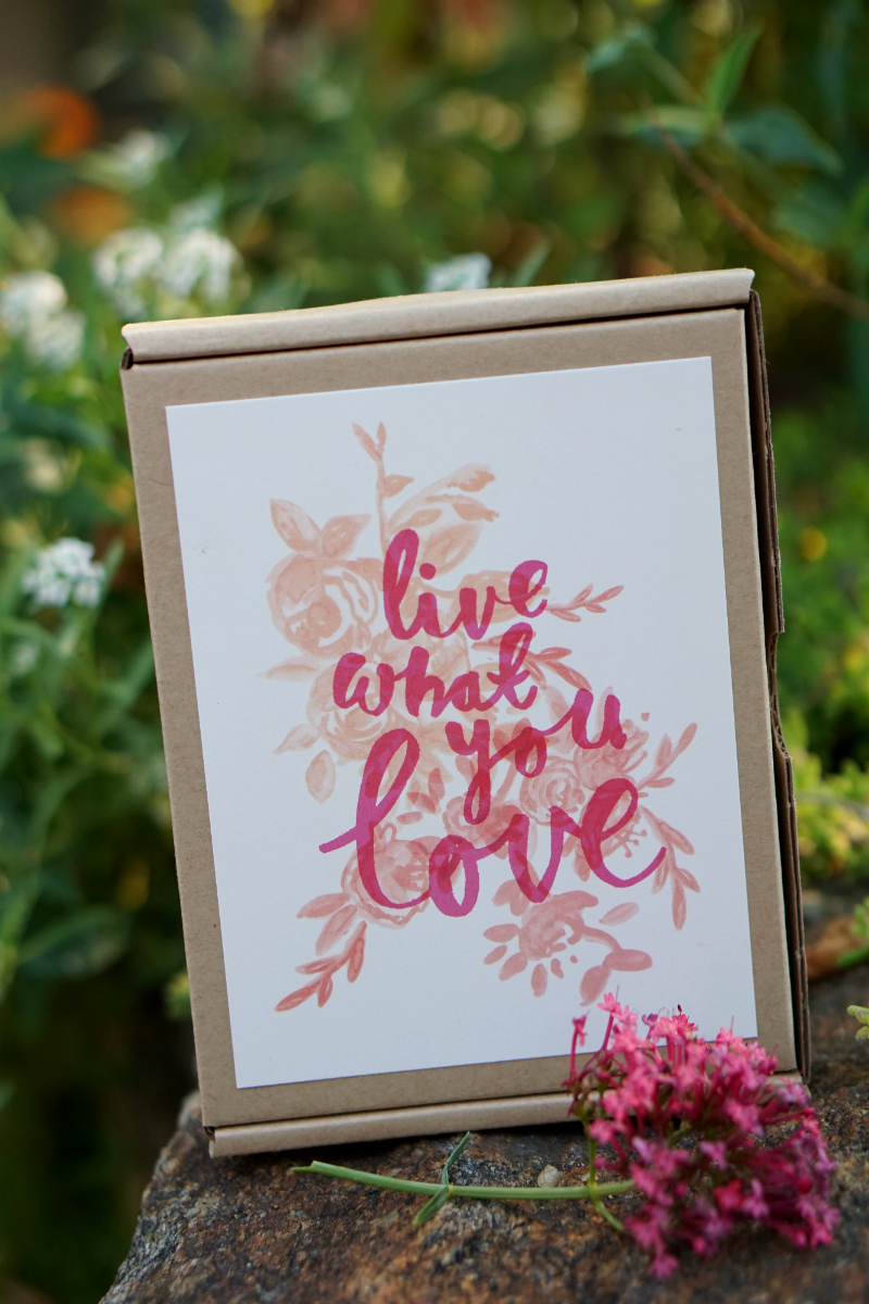 Live What You Love Summer Giveaway - Paper Destiny Notecards