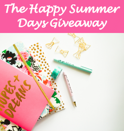 Enter The Happy Summer Days Giveaway