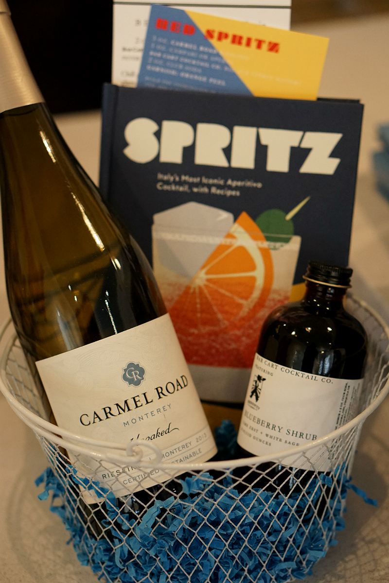Entertaining Guide - Wine Spritz Cocktail Recipes from The Bar Cart Cocktail Company