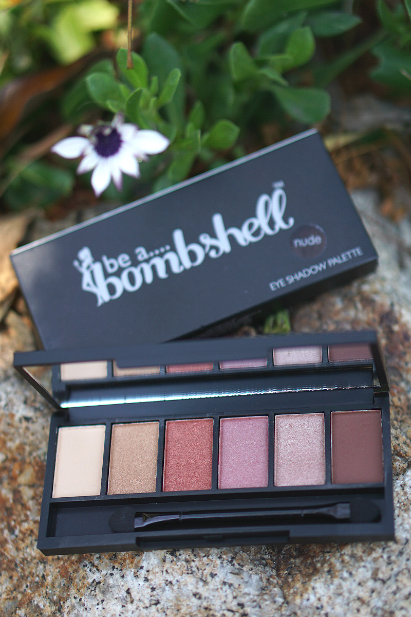 Love What You Do Giveaway - Bombshell Cosmetics Nude Eyeshadow Palette