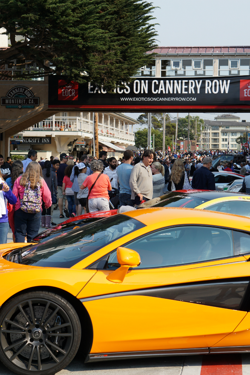 Highlights from Monterey Car Week - Exotics on Cannery Row Monterey