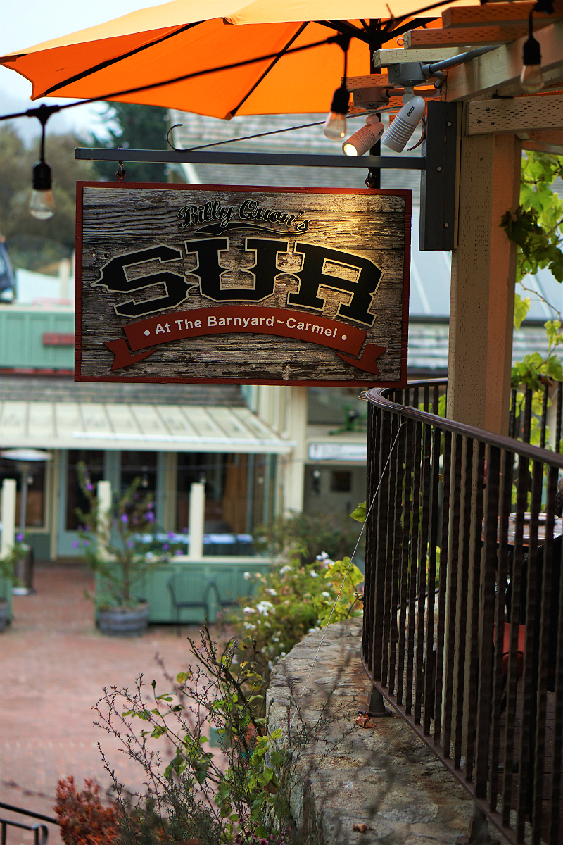 The Deluxe Central Coast Vacation Giveaway - Billy Quon's Sur at The Barnyard