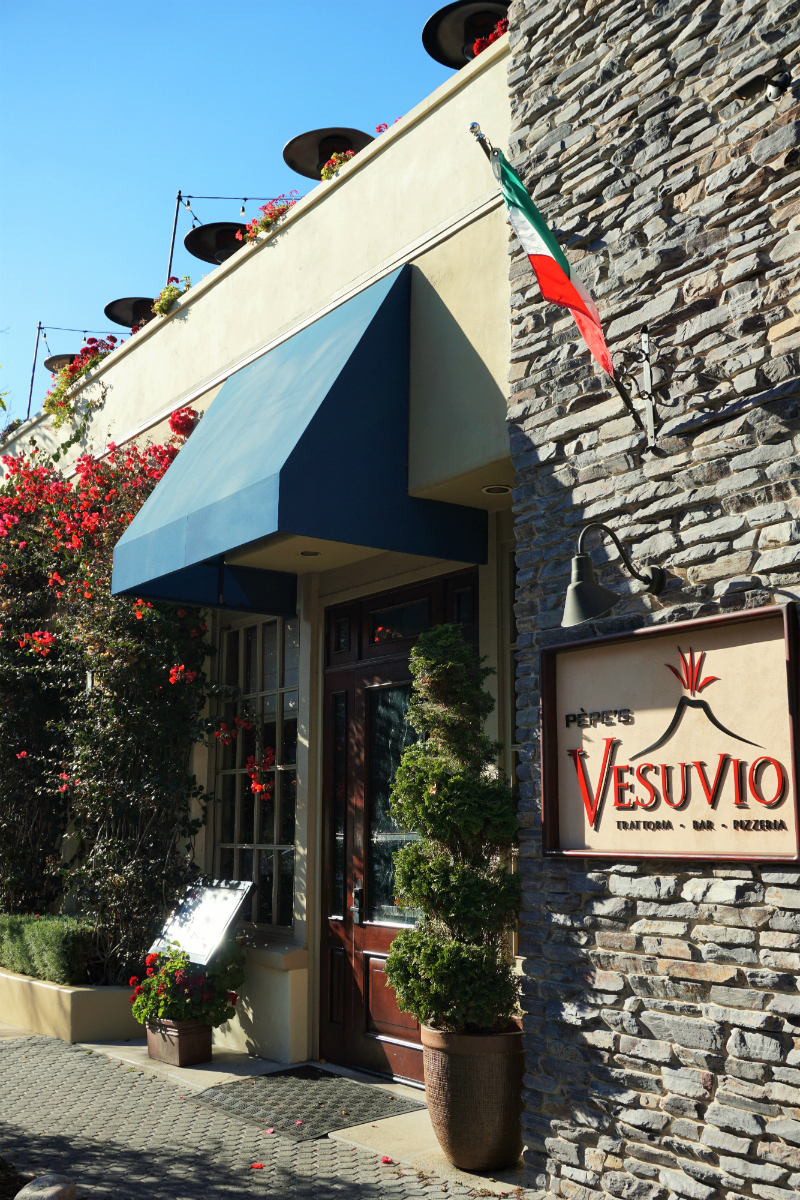 The Deluxe Central Coast Vacation Giveaway - Vesuvio Ristorante and Bar