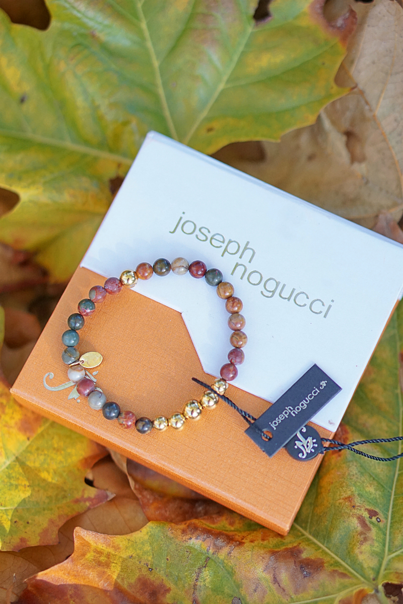The Fun & Fashionable Fall Giveaway - Joseph Nogucci Beaded Bracelet