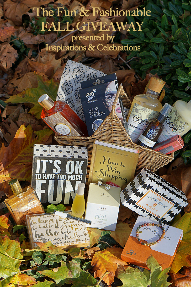 The Fun & Fashionable Fall Giveaway