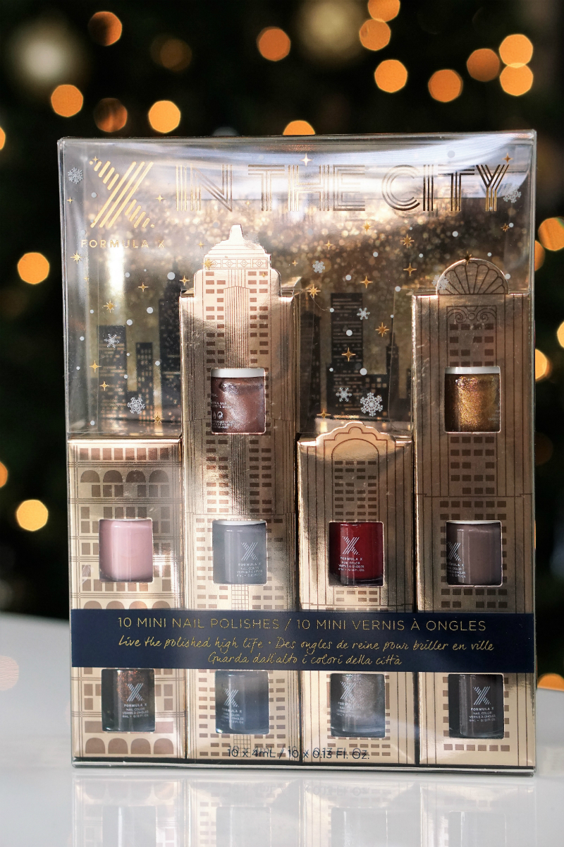 Beauty Gifts from Sephora - Formula X X In The City Nail Polish Set