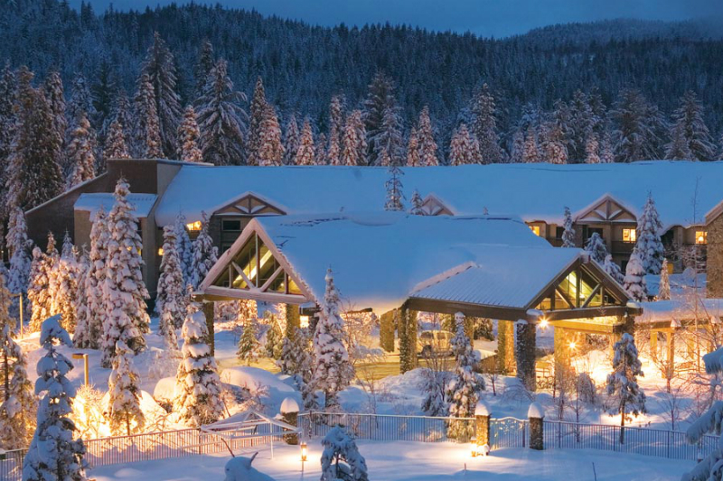 Winter Wonderland Resorts That Brighten Up The Holidays - Tenaya Lodge