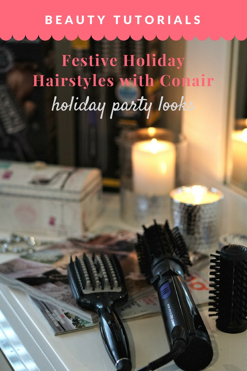 Festive Holiday Hairstyles with Conair