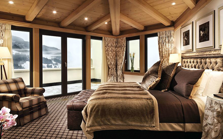 35 Romantic Getaways for Valentine's Day Weekend - Gstaad Palace Switzerland