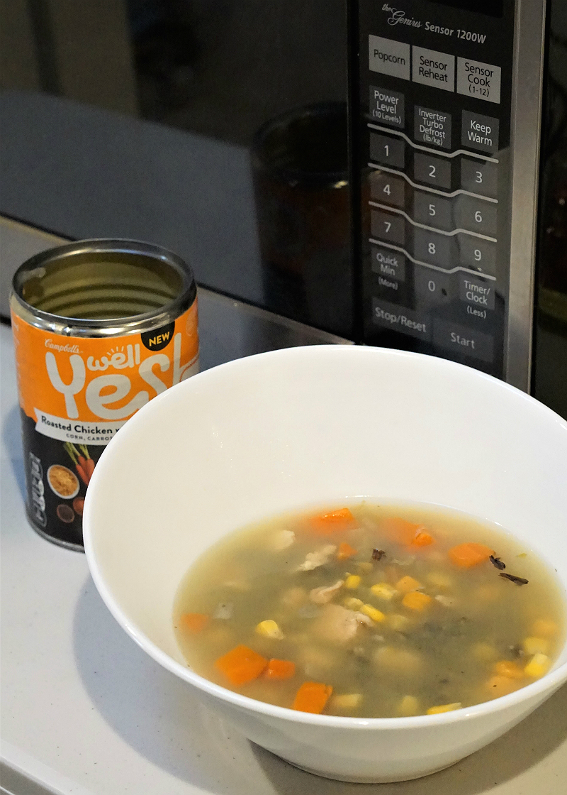 Quick & Easy Lunchtime Meals To Keep You Energized On The Go - Campbell's Well Yes Soup