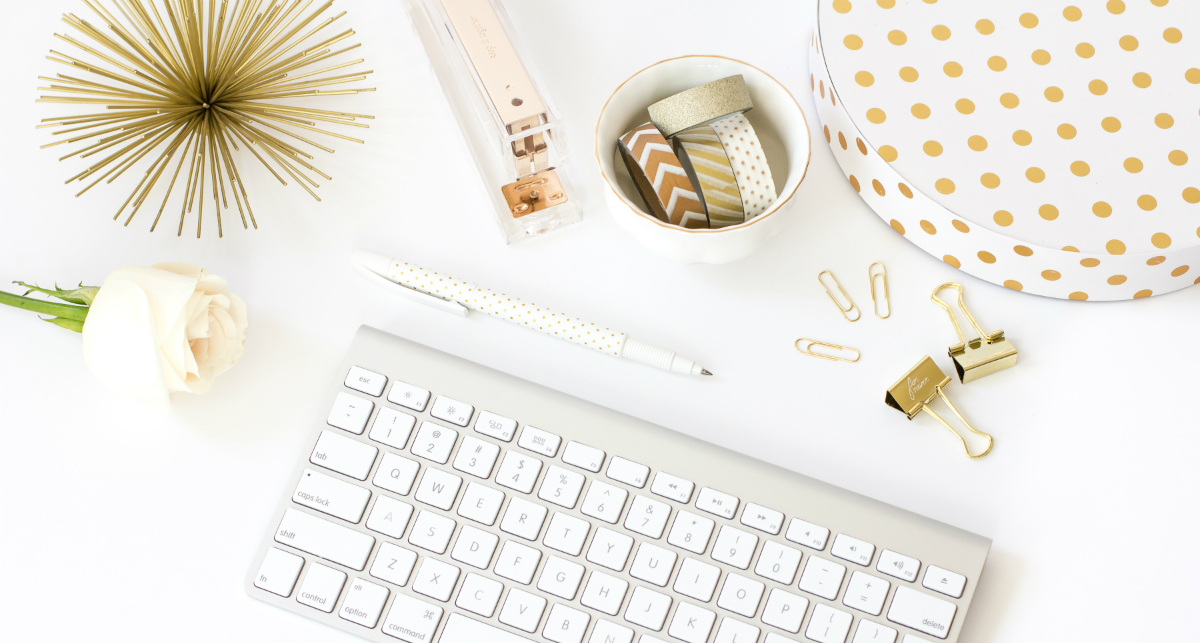 15 chic office supplies furnishings to inspire you to for Trendy office supplies