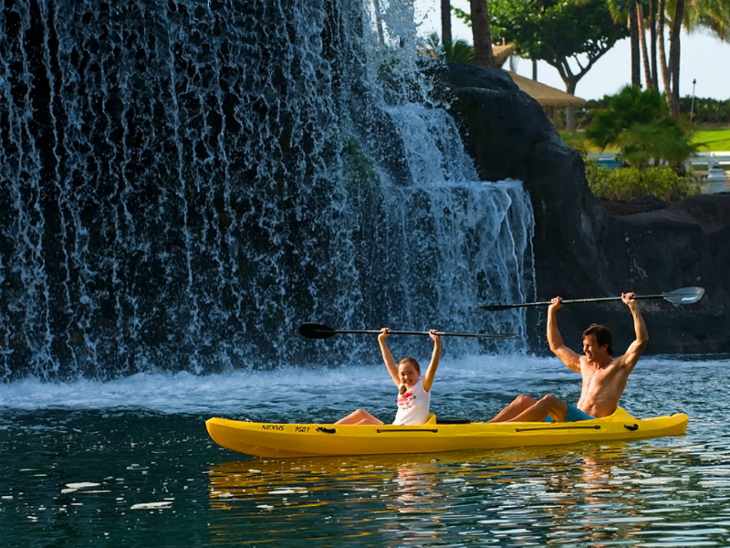 Family-Friendly Spring Break Vacation Ideas at Top Hotels - Hilton Waikoloa Village