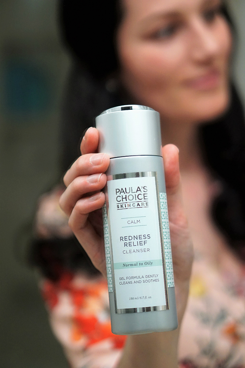 Beauty Tutorial - Paula's Choice Skincare Redness Relief Cleanser