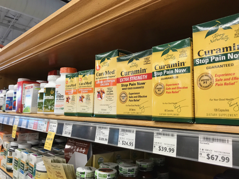 Curamin Stop Pain Now at Whole Foods