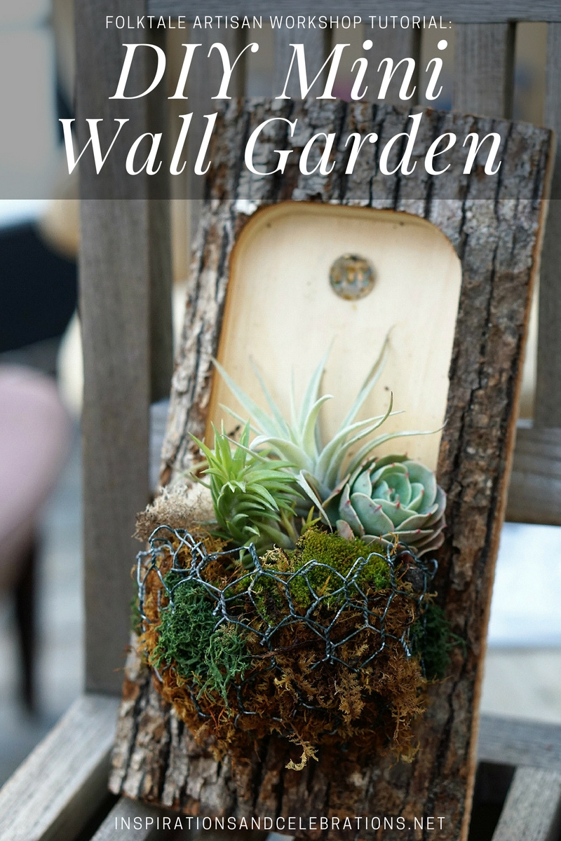 DIY Mini Wall Garden Tutorial