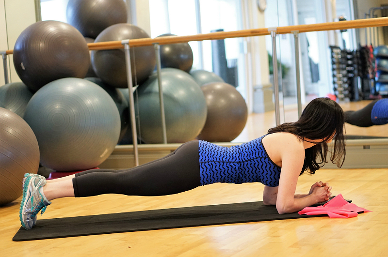 Easy and Effective Ways To Help Relieve Lower Back Pain - Planking Core Exercise