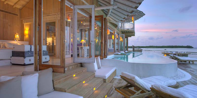 Luxurious Eco-Friendly Travel Companies and Hotels - Soneva