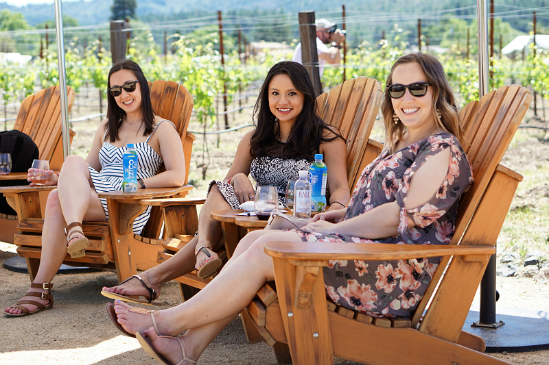 Hall Wines Cabernet Cookoff in St Helena Napa Valley