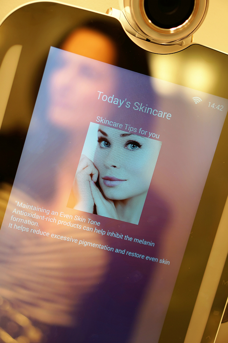 HiMirror - At-Home Beauty Technology That Analyzes Your Skin