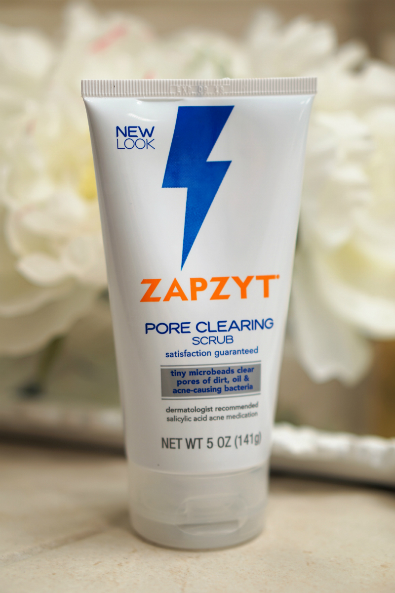 How To Treat Body Acne Quickly - Zapzyt Pore Clearing Scrub