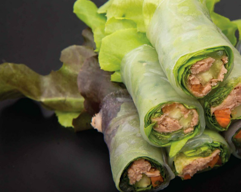 Jillian Michaels Healthy Recipe - Cafe Med Tuna Salad Wraps