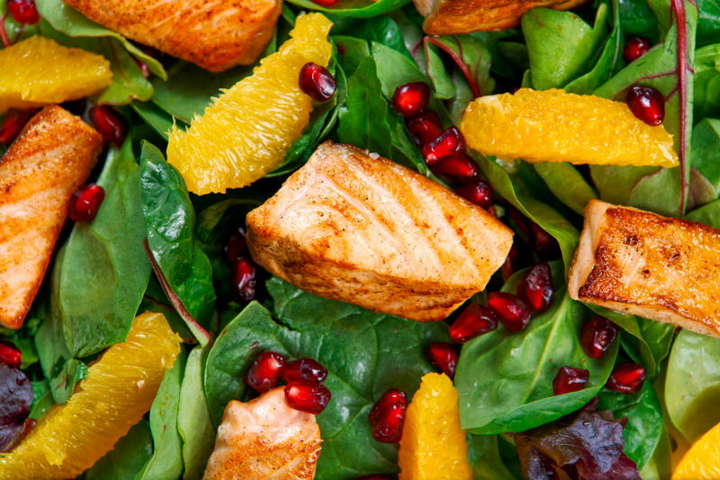 Jillian Michaels Healthy Recipe - Siciliana Salmon Salad