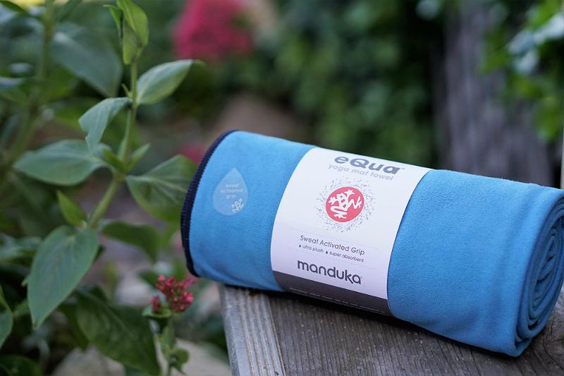 Power Your Happy Giveaway - Manduka Equa Yoga Mat Towel
