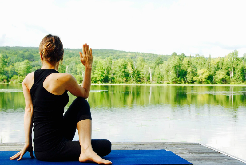 Wellness Guide - 5 Simple Ways To Reduce Stress in Your Daily Life - Yoga or Stretching