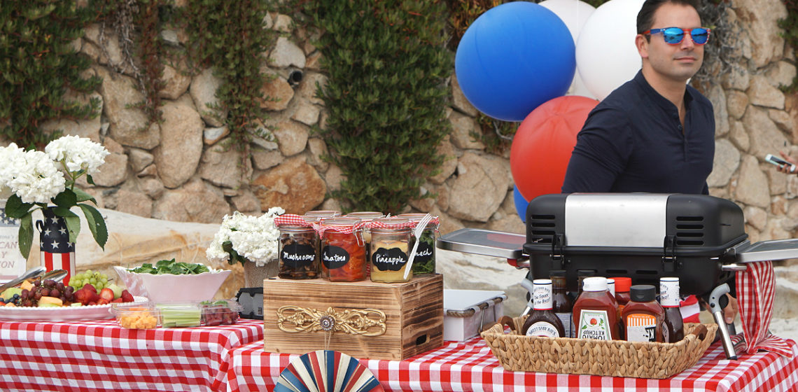 The Ultimate Labor Day Beach Party Tutorial - How To Host a Vintage Inspired Patriotic Party