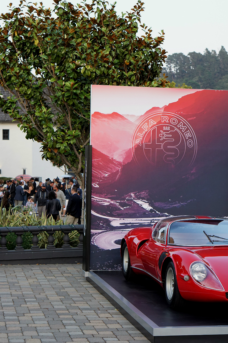 Automobile Magazine Celebrates the Revival of Alfa Romeo in the USA with a VIP Party for Monterey Car Week