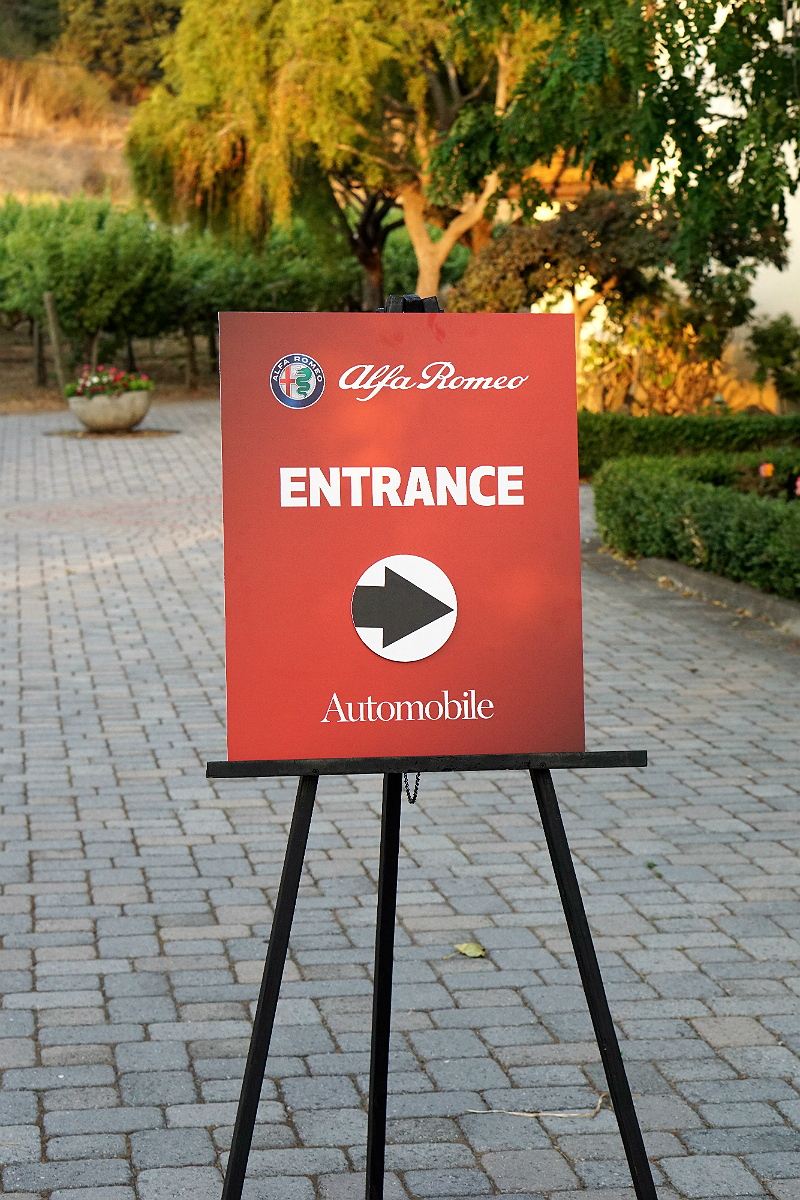 Automobile Magazine Celebrates the Revival of Alfa Romeo in the USA - Monterey Car Week VIP Party