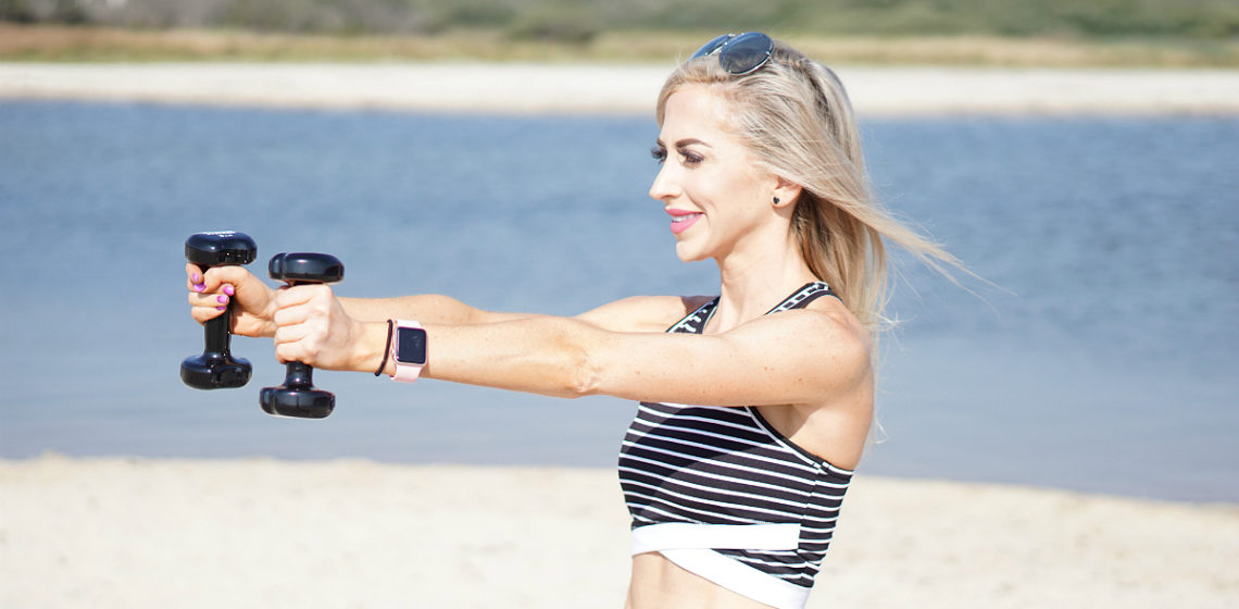 Barre on the Beach Series - 5 Barre Exercises to Tone and Strengthen Arms