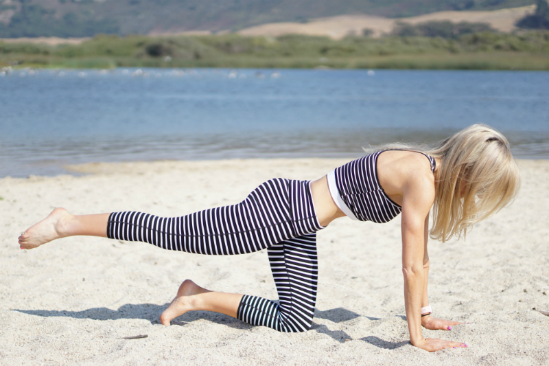 Barre on the Beach Series - Full-Body Exercises