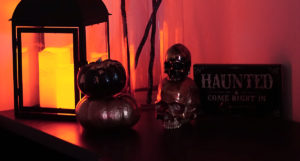 Ghoulishly Glamorous Halloween Home Decor