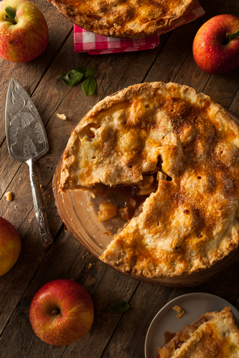 Inspired By The Season - Fun Ways To Enjoy The Best Things About Fall - Apple Pie Baking