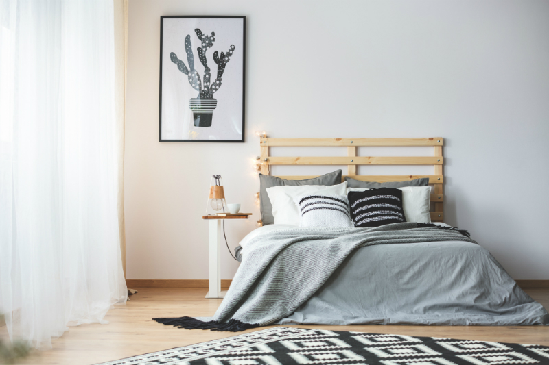Inspired by Hygge Style - How To Create a Cozy Home for Fall - Bedroom